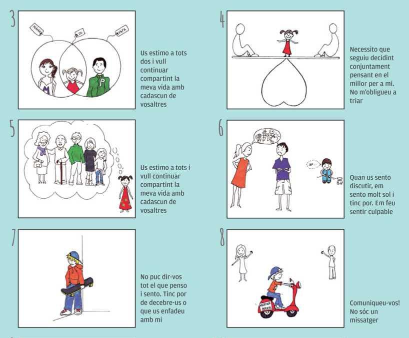 El divorci conflictiu: decàleg de bones pràctiques per als progenitors